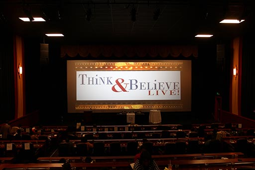 Think and Believe Live Stage